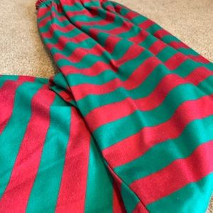 Salty Cold Brew Tops - Red & Green Christmas PJ Set